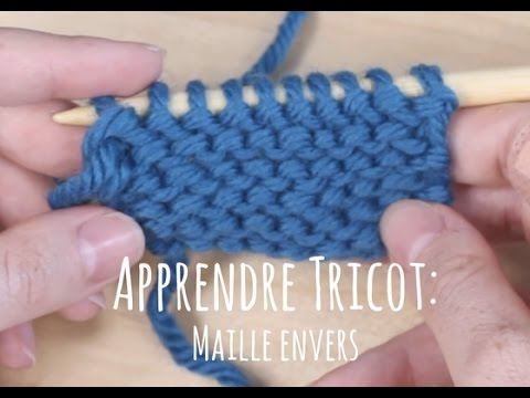 Tricot augmentation sur l'envers