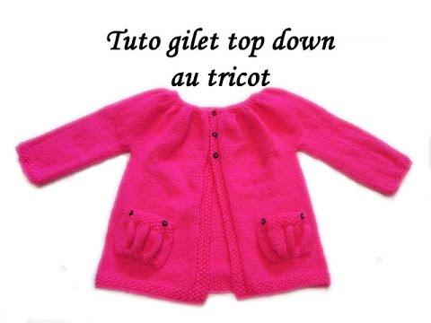 Youtube tricoter un gilet bebe