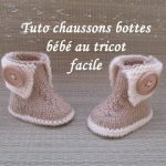 Tricot facile bebe fille