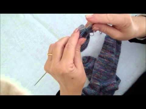 Tricoter facile chaussettes vertes