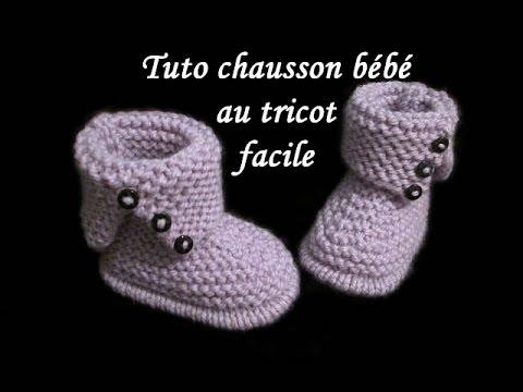 Tricot chaussons bébé originaux