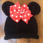 Comment tricoter un bonnet minnie