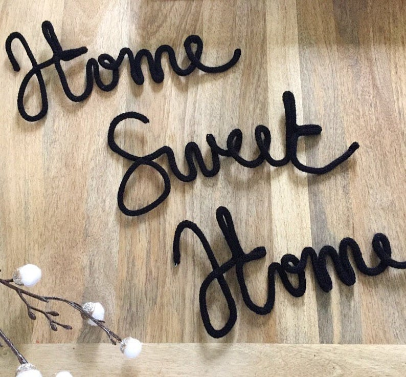 Tricotin home sweet home