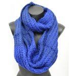 Tricoter foulard rond