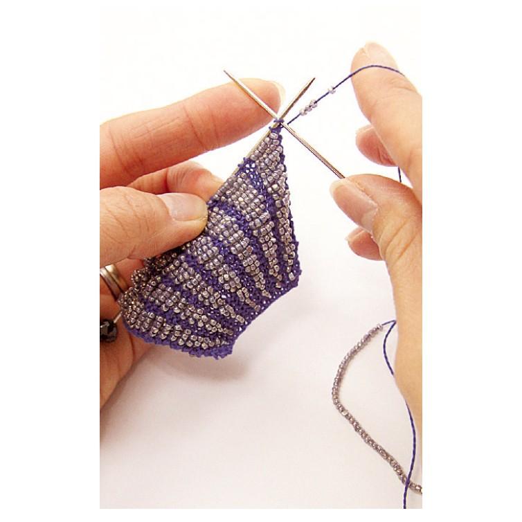 Tricoter des perles