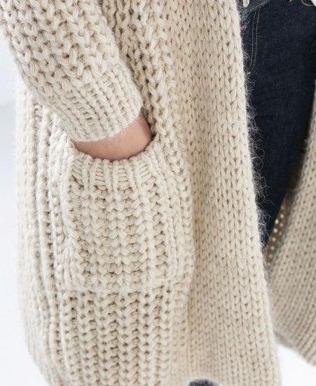 Tricoter avec des aiguilles plus grosses que la laine