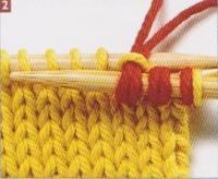 Tricot rayures horizontales