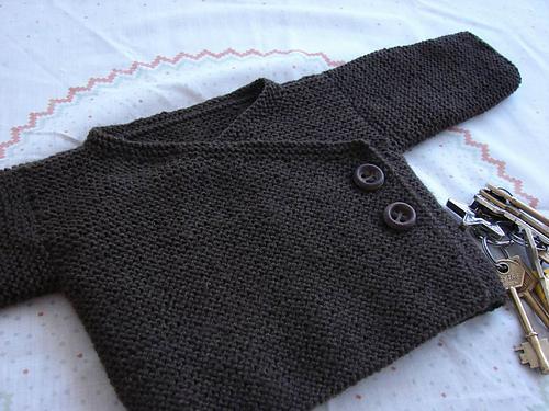Tricoter gilet bébé facile
