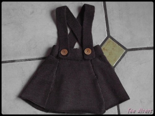 Tricoter jupe bebe