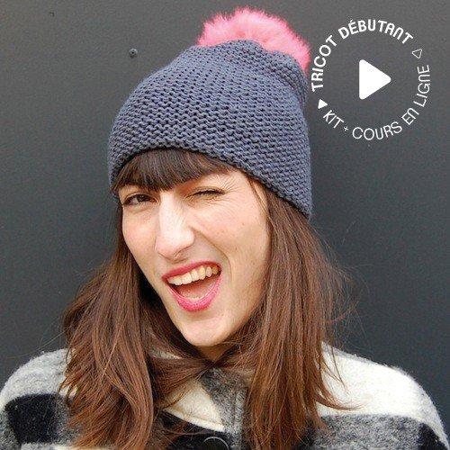 Tricoter un bonnet en laine