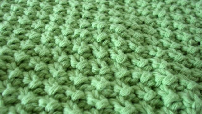 Finir tricot point de riz