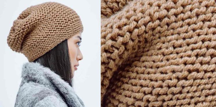 Tricoter un bonnet au crochet facile