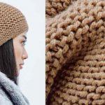 Tricoter un bonnet simple pour femme