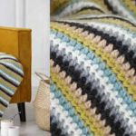 Tricoter un plaid moderne