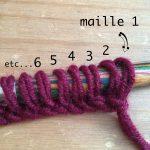 Tricoter en double épaisseur