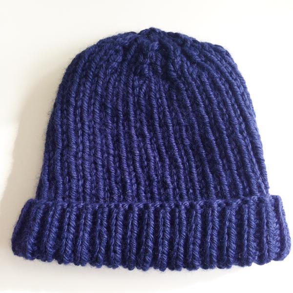 Tricoter un bonnet marin pour homme