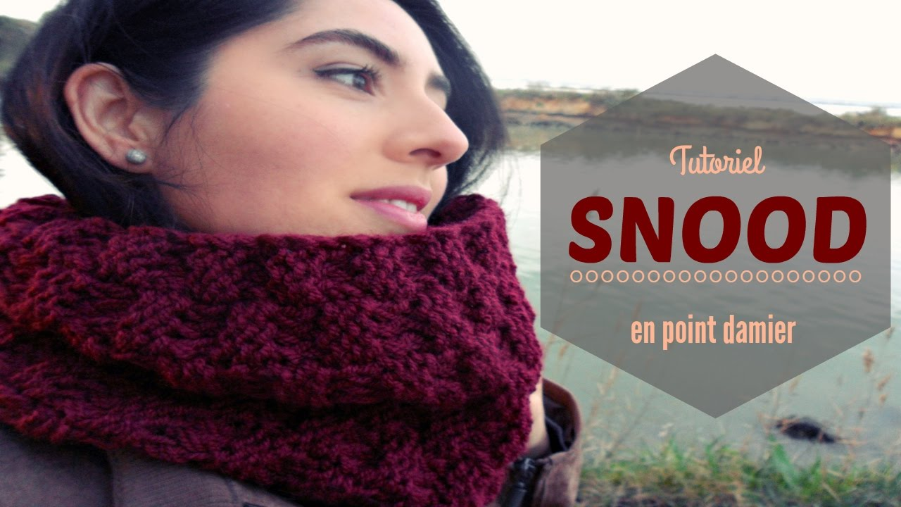Snood tricot facile youtube