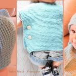 Tricot bebe facile point mousse