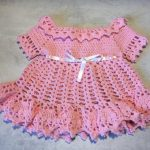Robe bebe tricot youtube