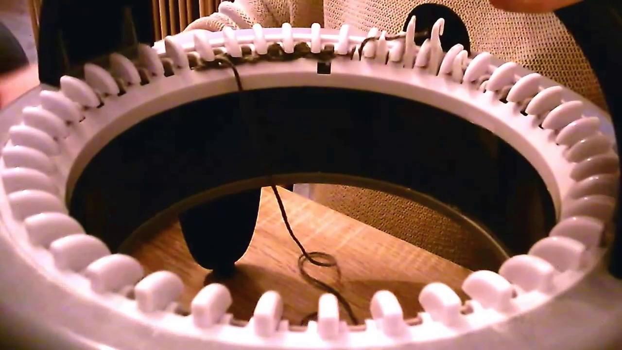 Video tricotin semi automatique