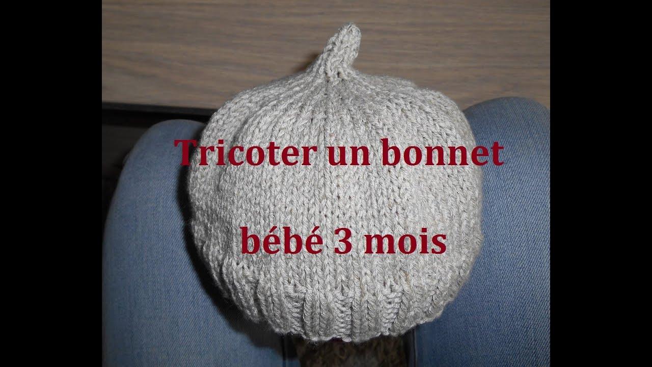 Tricoter un bonnet lutin pour bébé