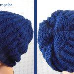 Comment tricoter un bonnet marin