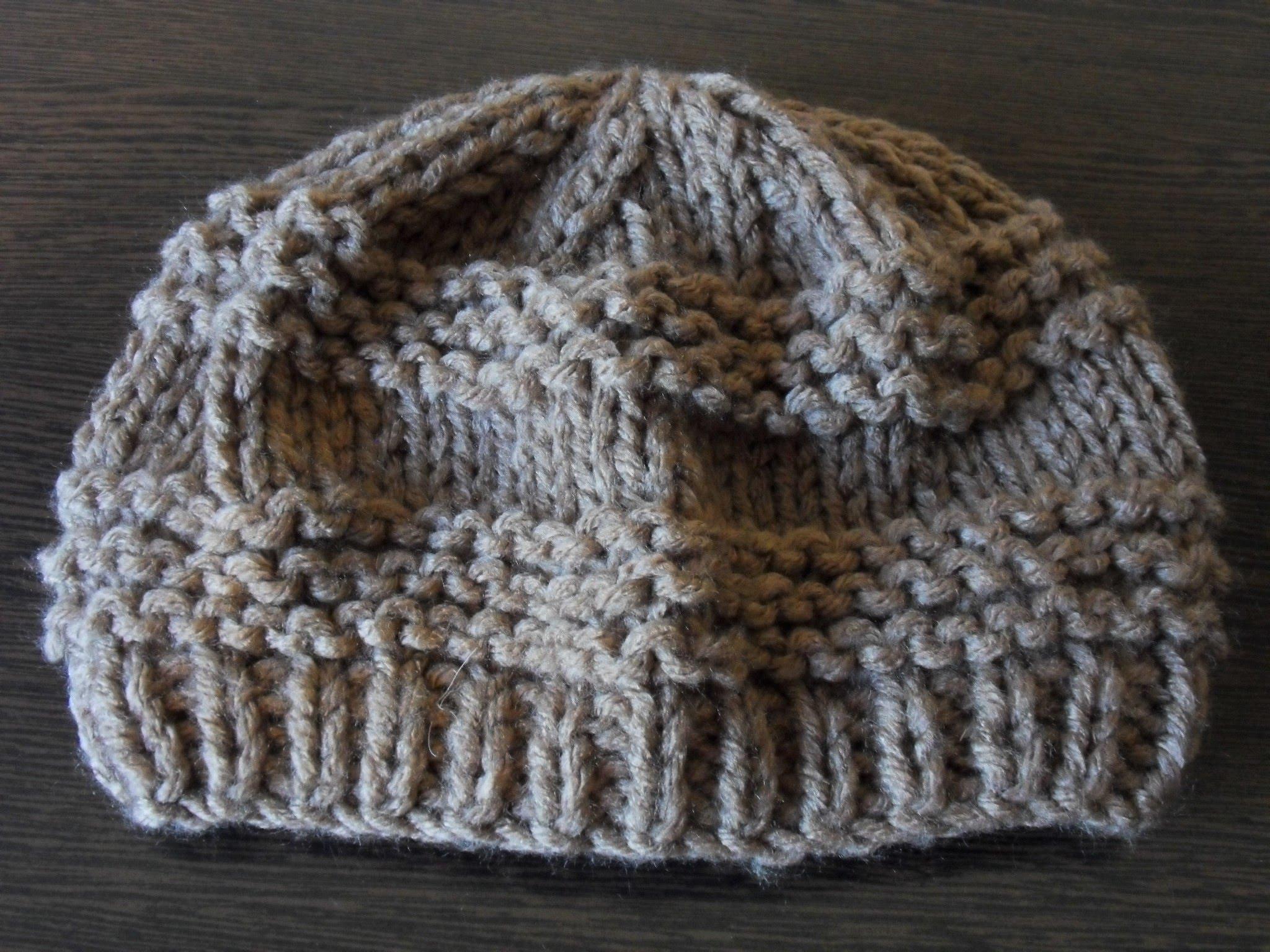 Tricoter un bonnet femme youtube
