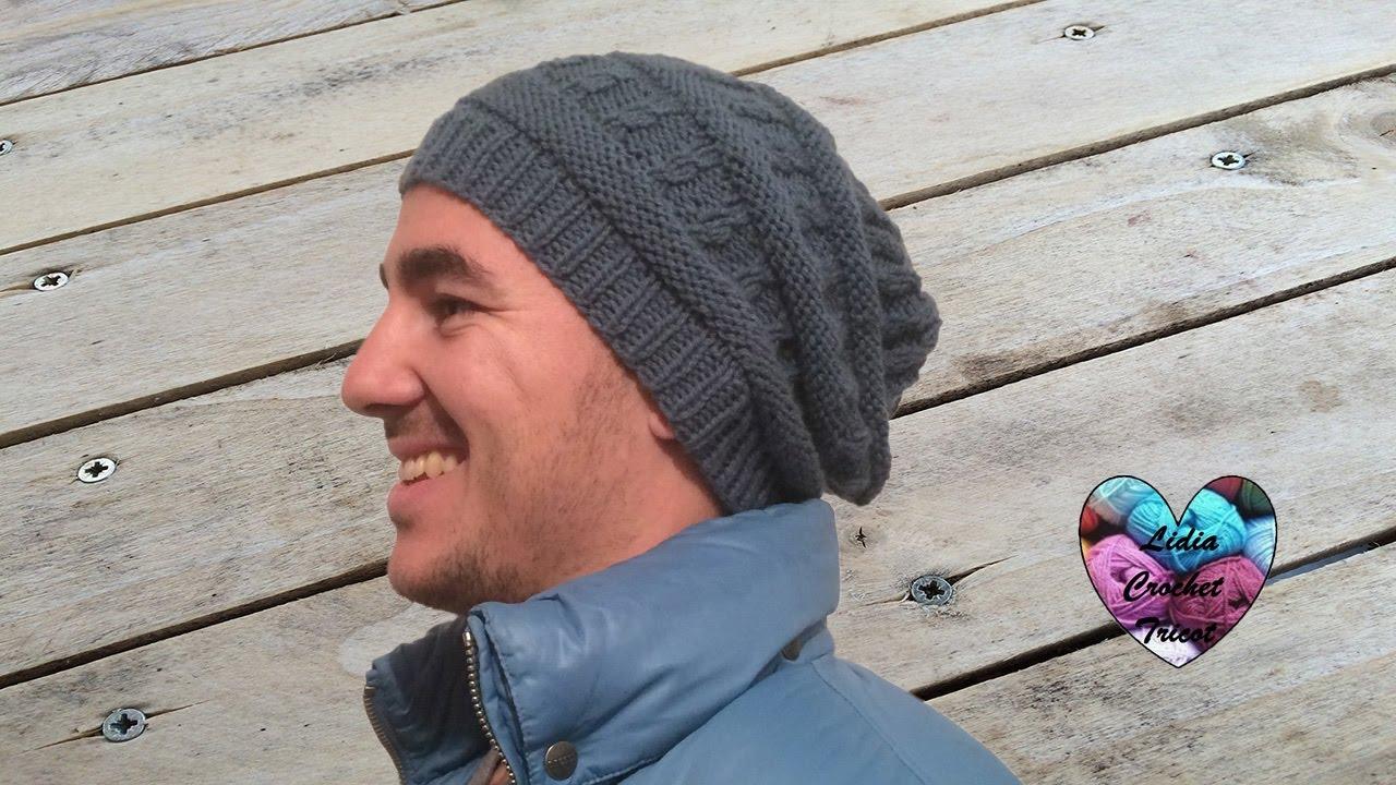Comment tricoter un bonnet youtube