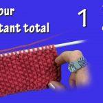 Point tricot point de riz