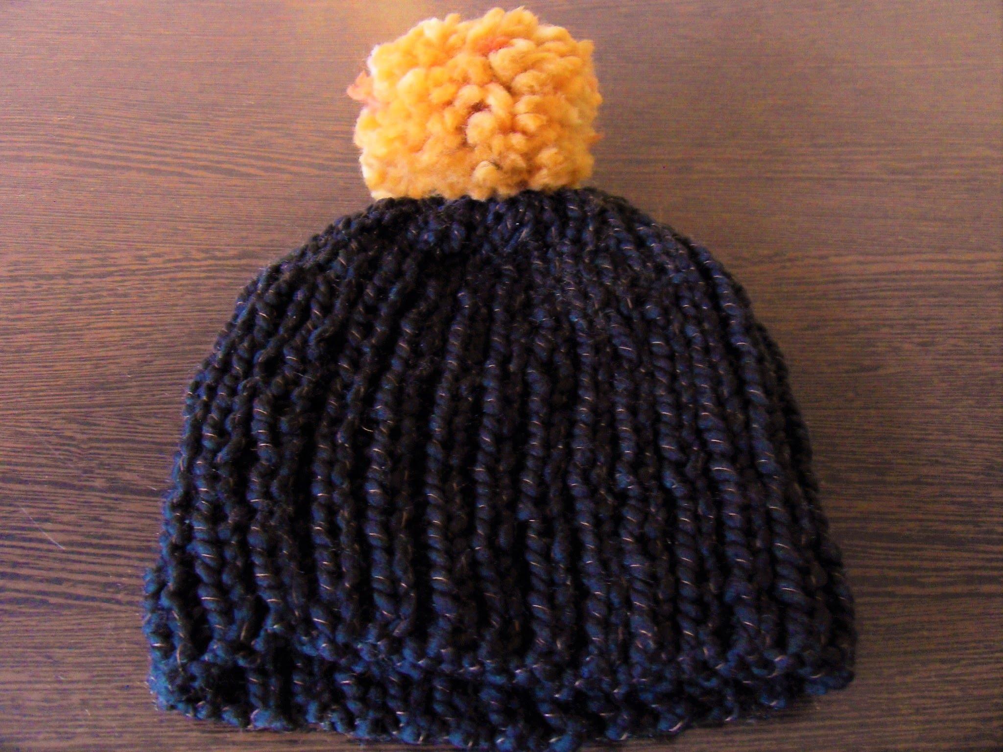 Tricoter un bonnet homme aiguille 8
