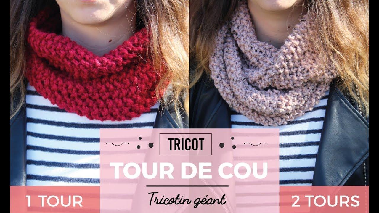 Tuto tricotin pour echarpe