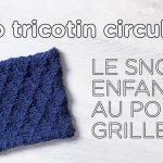 Tuto tricotin point 8