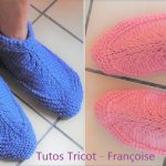 Chausson tricot debutant adulte