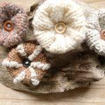 Tricotin fleur laine