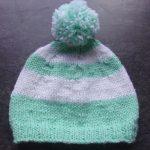 Tricoter un bonnet bébé 3 mois