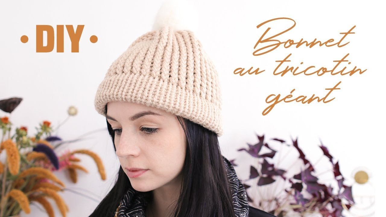 Tricotin tuque youtube