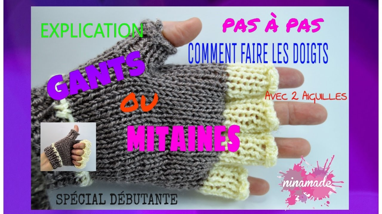 Tricoter avec les doigts modèles