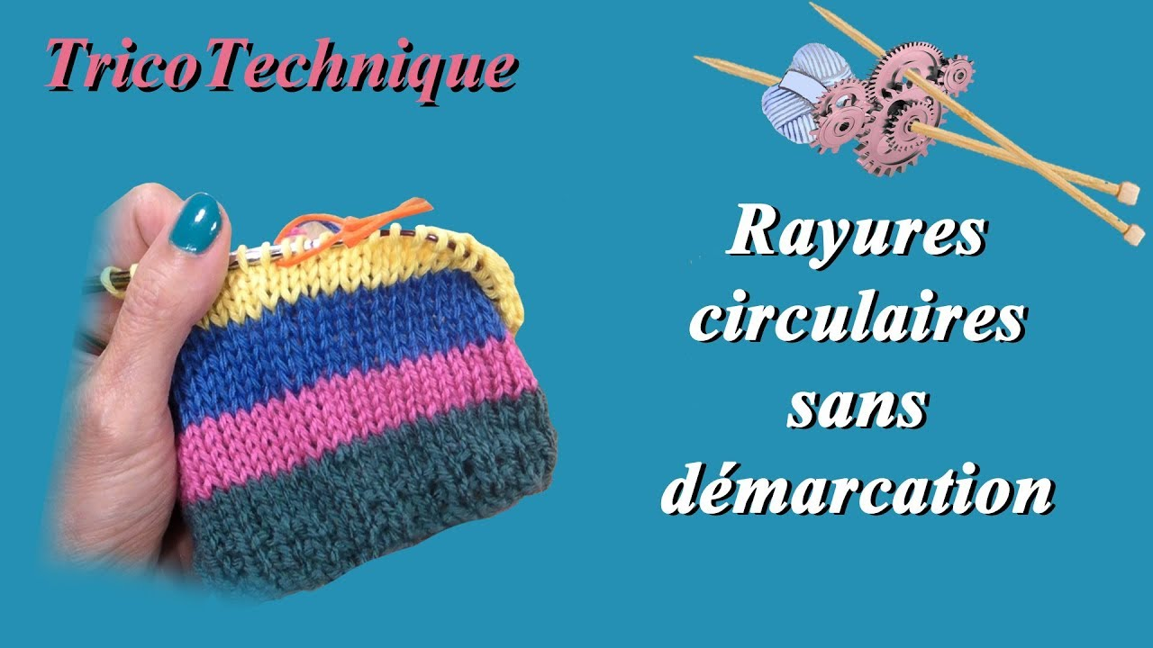 Tricoter des rayures
