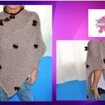 Tricoter poncho