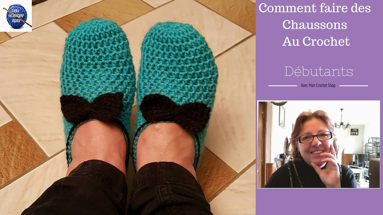 Youtube tricoter des chaussons adultes