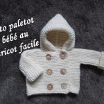 Tricot encolure bebe
