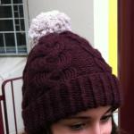 Tricoter un bonnet homme torsade