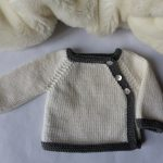 Tricot naissance fille