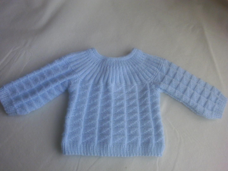 Tricoter brassiere bébé