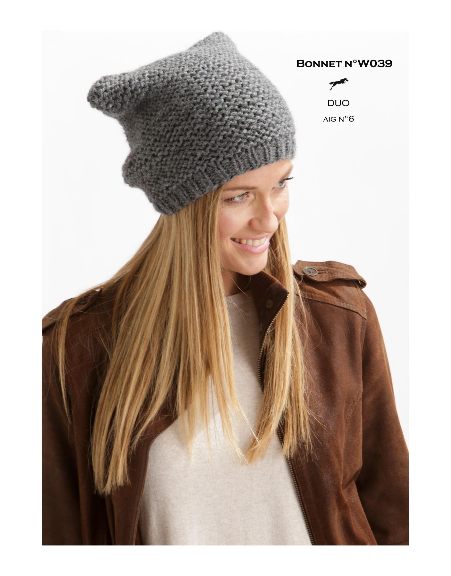 Tricoter un bonnet gratuit