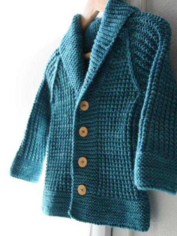Modele tricot gilet rayé