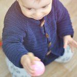 Tricot bebe en coton