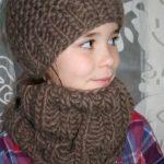 Tricoter un bonnet facile pour petite fille