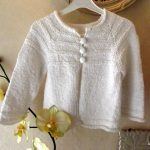 Tricot fille 2 ans