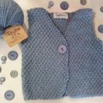 Tricoter gilet sans manche garçon
